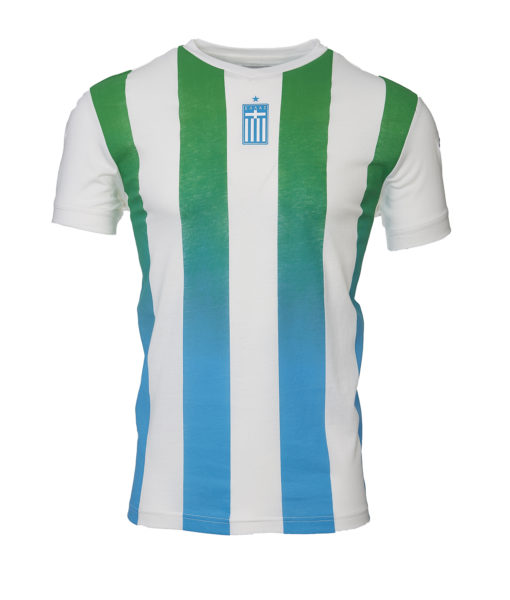 "Kappa Ανδρικό Μπλουζάκι T-Shirt  Stripes ""PAO Since 1908"" - AUNG 3"