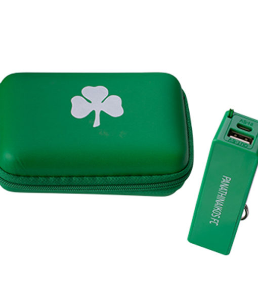 "Power Bank ""Panathinaikos FC"" & Θήκη"